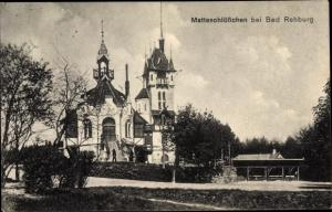 Ak Wölpinghausen in Niedersachsen, Matteschlösschen