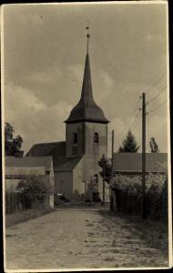 Ak Fredersdorf Vogelsdorf bei Berlin, Kirche