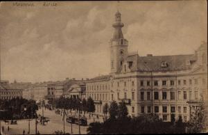 Ak Warszawa Warschau Polen, Rathaus