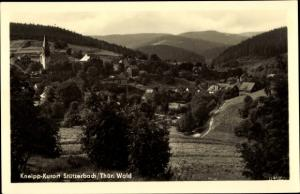 Ak Stützerbach Ilmenau Thüringer Wald, Teilansicht, Berglandschaft