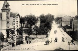 Ak Aulnay sous Bois Seine Saint Denis, Rond-Point Dumont