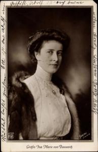 Ak Gräfin Ina von Bassewitz, von Ruppin, Ehefrau von Oskar Prinz von Preußen, NPG 4785
