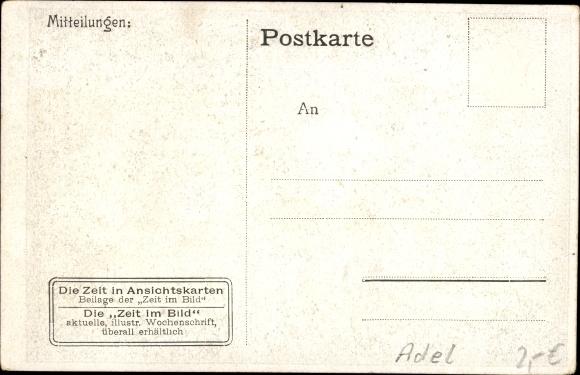 Ak Kronprinz Friedrich Wilhelm von Preußen zu Pferde 1