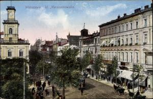Ak Warszawa Warschau Polen, Ul. Marszatkowska