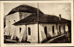 Judaika Ak Tomaszow Lubelski Polen, Glowna boznica, Synagoge