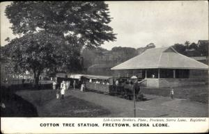 Ak Freetown Sierra Leone, Cotton Tree Station
