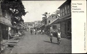Ak Freetown Sierra Leone, Kroo Town Road