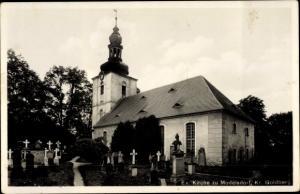 Ak Modlikowice Modelsdorf Polen, Evangelische Kirche