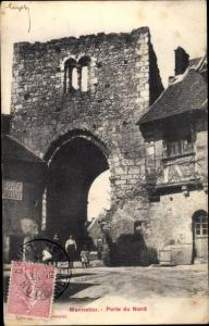 Ak Mennetou sur Cher Loir et Cher, Porte du Nord