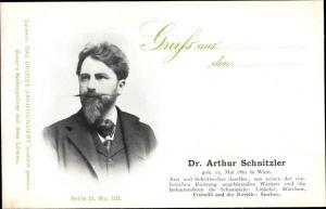 Ak Schriftsteller Dr. Arthur Schnitzler