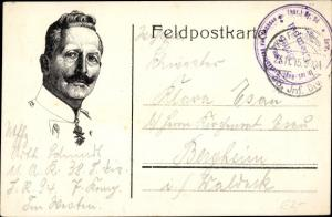 Ak Kaiser Wilhelm II. von Preußen