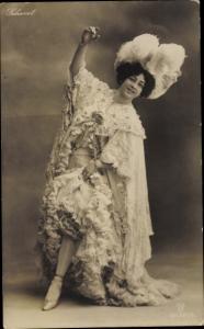 Ak Porträt der australischen Schauspielerin Saharet