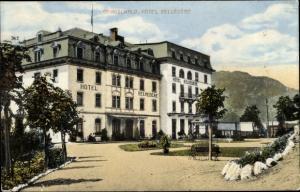 Ak Grindelwald Kanton Bern Schweiz, Hotel Belvedere