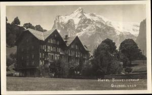 Ak Grindelwald Kanton Bern Schweiz, Hotel Schweizer Hof