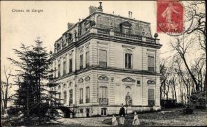 Ak Garges lès Gonesse Val d'Oise, Château