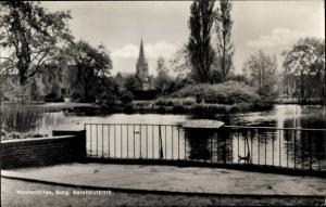 Ak Voorschoten Südholland, Burg, Berkhoutpark