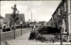 Ak Monster Südholland Niederlande, Burg. Kampschoerstraat