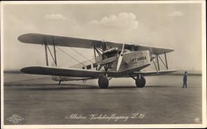 Foto Klinke, Albatros Verkehrsflugzeug L73, Rotophot