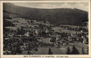 Ak Świeradów Zdrój Bad Flinsberg Schlesien, Am langen Berg, Panorama