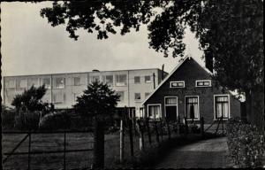 Ak Aalten Gelderland Niederlande, Chr. lagere land-en tuinbouwschool, Bredevoortsestraat