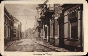 Ak Winsum Groningen Niederlande, Hoofdstraat