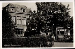Ak Havelte Drenthe Niederlande, Gemeenthuis