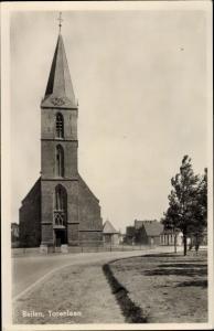 Ak Beilen Drenthe Niederlande, Torenlaan, Kirche