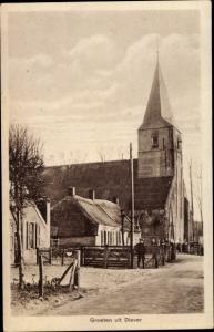Ak Diever Drenthe Niederlande, Kirche