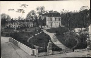 Ak Garges lès Gonesse Val d'Oise, Chateau