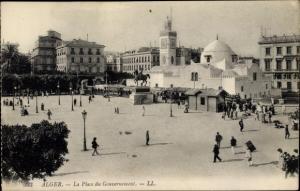 Ak Algier Alger Algerien, La Place du Gouvernement
