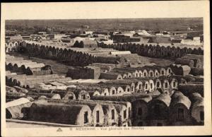 Ak Madanīn Medenine Tunesien, Vue generale des Rhorfas
