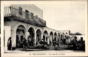Ak Ben Gardane Tunesien, Un coin de la Place