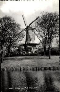 Ak Alkmaar Nordholland Niederlande, Molen van Piet anno 1769