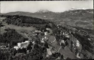 Ak Kt Waadt Schweiz, Mont Pelerin et les Alpes fribourgeoises