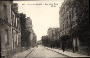 Ak Bois Colombes Hauts de Seine, Rue de la Paix