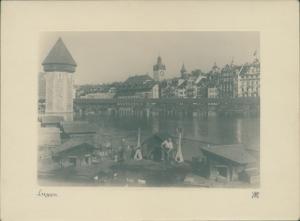 Foto Luzern Stadt Schweiz, Entenhäuser, Panorama vom Ort