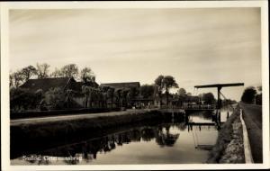 Ak Smilde Drenthe Niederlande, Grietmansbrug