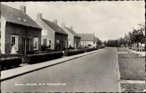 Ak Bovensmilde Drenthe, H. P. Sickensstraat