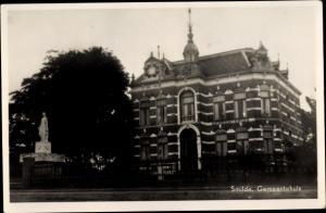 Ak Smilde Drenthe Niederlande, Gemeentehuis