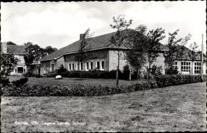 Ak Smilde Drenthe Niederlande, Chr Lagere Landb School