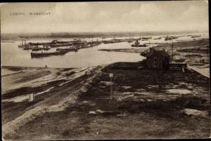 Ak Lobith Rijnwaarden Gelderland, Rijnzicht