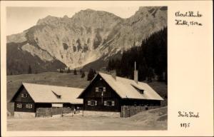 Ak Admont Steiermark, Oberst Klinke Hütte, Fotograf Fritz Fürst