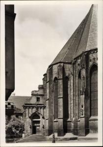 Ak Halle an der Saale, Moritzkirche, Chorabschluss
