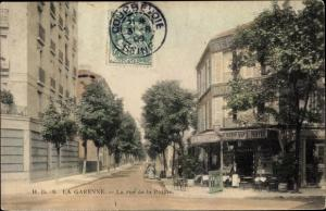 Ak La Garenne Colombes Hauts de Seine, Rue de la Pointe
