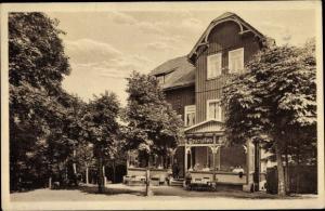Ak Benneckenstein Oberharz, Hotel Waldhaus