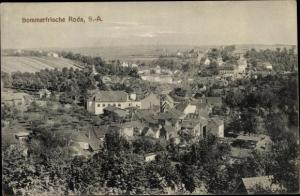 Ak Roda Sachsen Altenburg Stadtroda an der Roda Thüringen, Blick auf den Ort