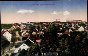 Ak Brand Erbisdorf Sachsen, Blick auf den Ort
