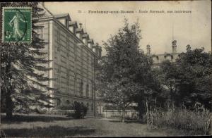 Ak Fontenay aux Roses Hauts de Seine, École Normale