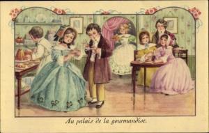 Ak Au palais de la gourmandise