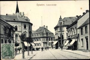 Ak Opladen Leverkusen im Rheinland, Kölnerstraße, Geschäfte